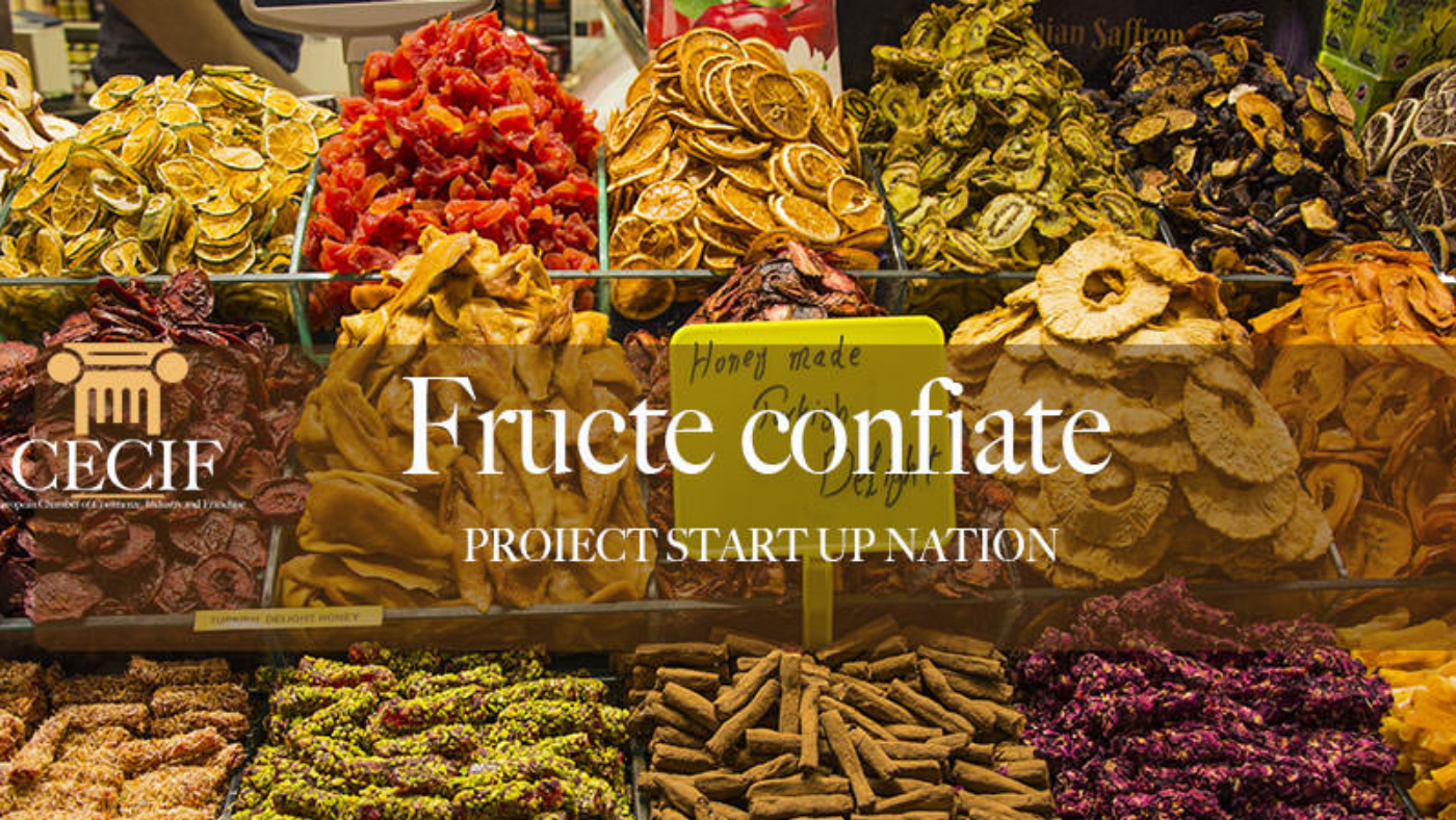 Fructe confiate STARTUP NATION