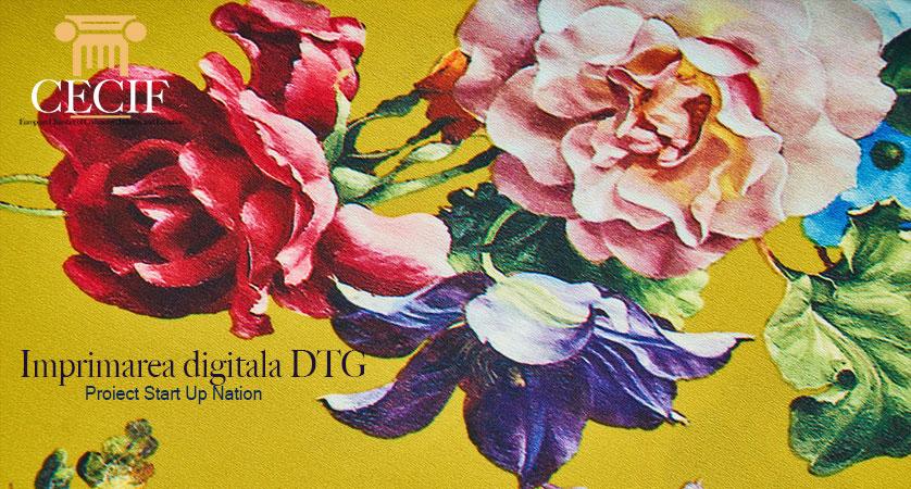 Print Textil Imprimarea digitala