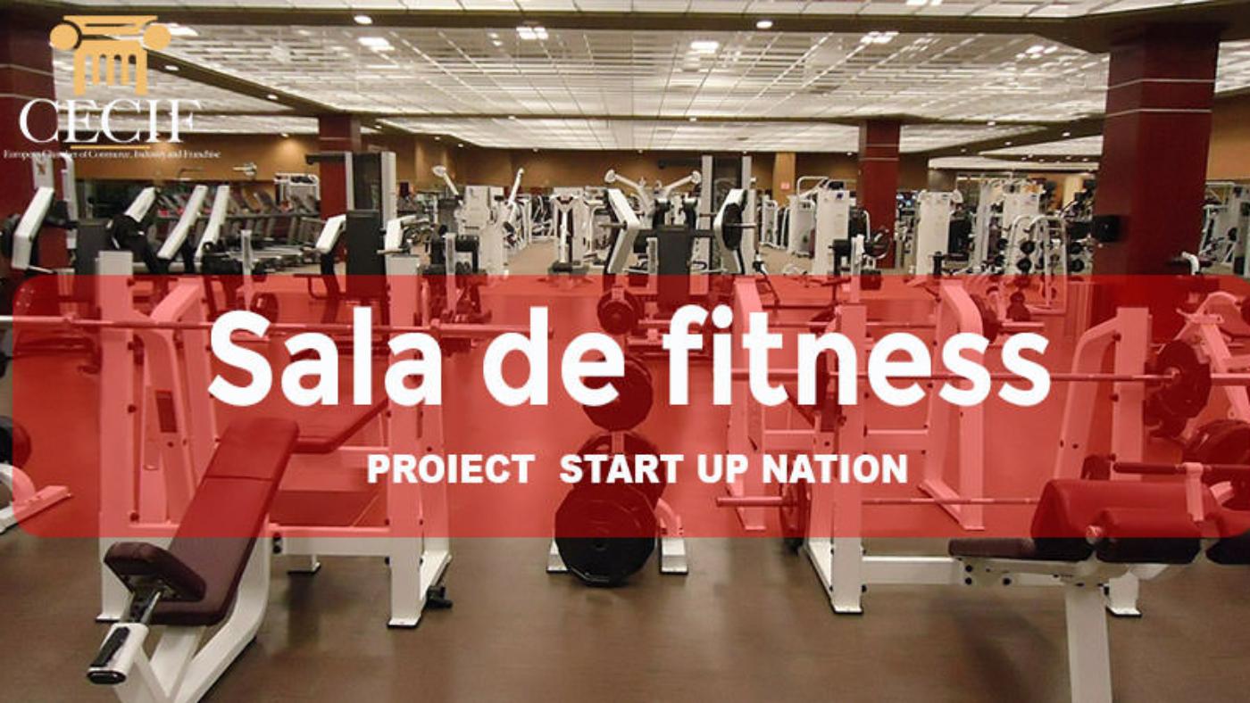 Sala de fitness proiect