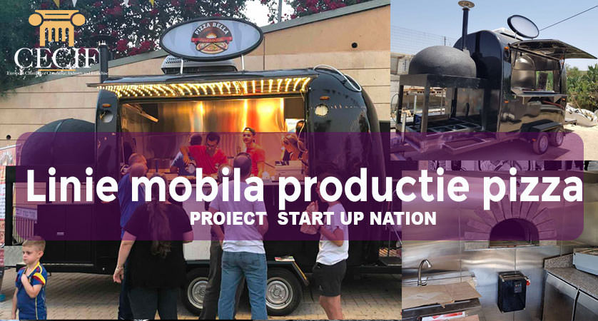 Linie mobila productie pizza