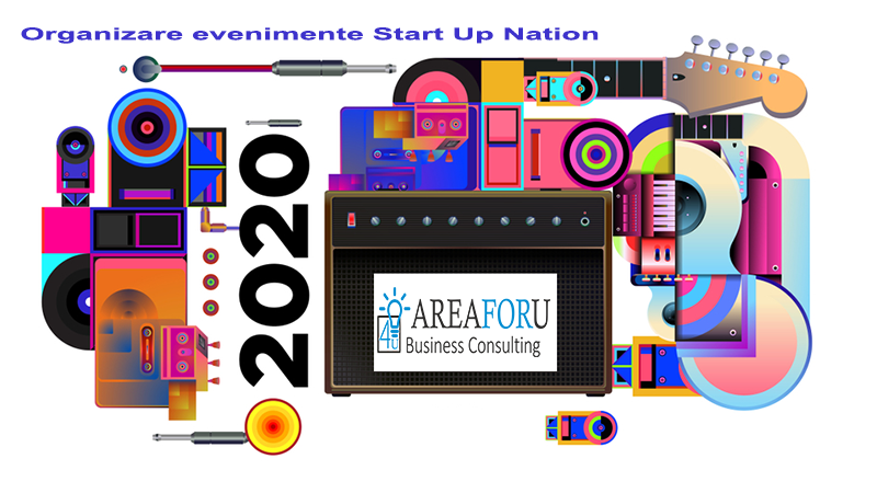 Organizare evenimente Start Up Nation