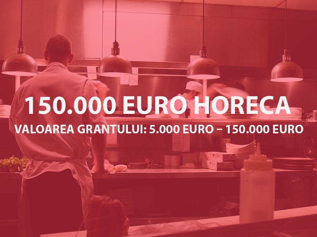 Valoarea grantului: 5.000 Euro – 150.000 Euro