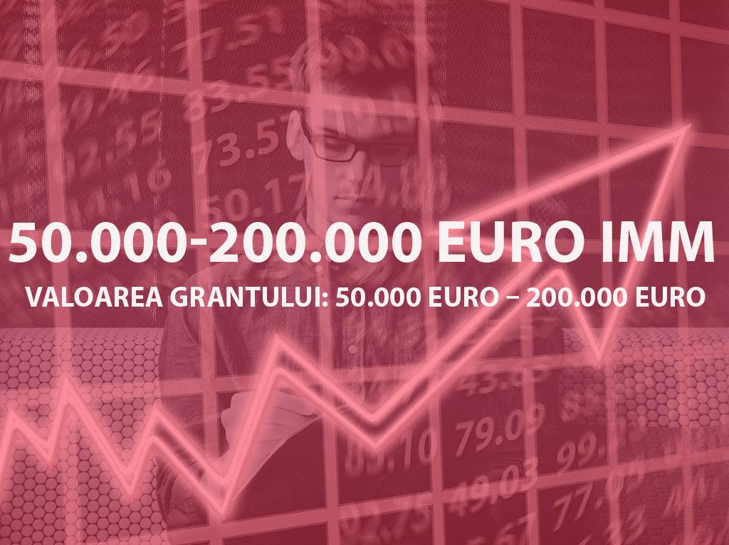 Valoarea grantului: 50.000 Euro – 200.000 Euro